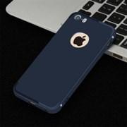 """Накладка силиконовая """"Baseus"""" с вырезом под логотип для Apple Iphone 6S/4,7 (цвет=синий)"""