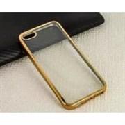 Накладка силиконовая с кантом для Apple Iphone 6S/4,7 (цвет=золото)
