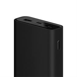 Аккумулятор Xiaomi Mi Power Bank 3 Pro 20000 (PLM07ZM) - фото 4658