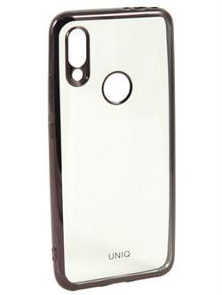 Накладка силиконовая с кантом для Xiaomi Redmi 5 Plus (цвет=черный) - фото 4828
