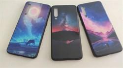 Накладка стеклянная с принтом для Xiaomi Mi 9 стиль 01 - фото 4829