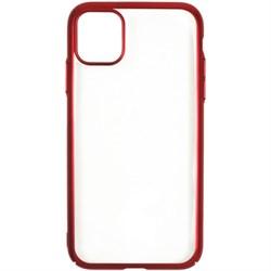 Накладка силиконовая с кантом для Xiaomi Redmi 5 Plus (цвет=красный) - фото 4843
