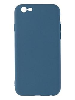 Накладка силиконовая с кантом для Apple Iphone 6S/4,7 (цвет=синий) - фото 4849