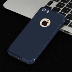 """Накладка силиконовая """"Baseus"""" с вырезом под логотип для Apple Iphone 6S/4,7 (цвет=синий) - фото 4853"""