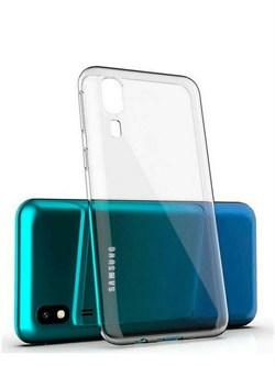 """Накладка ультратонкая """"Lux"""" 1 мм для Samsung Galaxy A31 (цвет=прозрачный) - фото 4922"""