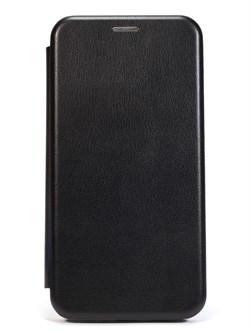 """Чехол-книжка """"Jeneva"""" для Samsung Galaxy A01/M01 (цвет=черный) - фото 5025"""