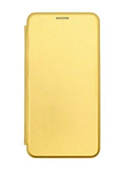 """Чехол-книжка """"Jeneva"""" для Samsung Galaxy A11/M11 (цвет=золото) - фото 5027"""