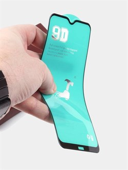 Защитное стекло CERAMICS 9D Full Glue для Samsung Galaxy A01/A40/M01 (цвет=черный) - фото 5028