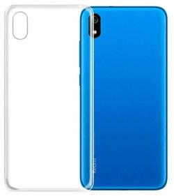 """Накладка ультратонкая """"Lux"""" 1 мм для Samsung Galaxy A01 (цвет=прозрачный) - фото 5029"""