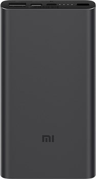 Xiaomi Mi Power Bank 3 10000 mAh black (PLM12ZM) - фото 5194