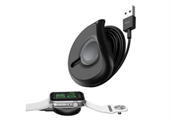 Зарядное устройство Baseus YOYO Wireless Charger for iW(with 1M Cable)Black - фото 5254