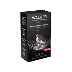 Автодержатель WALKER CX-002 магнитный на панель, черный - фото 5299