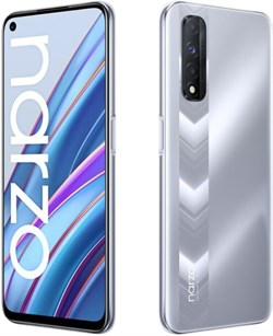 Смартфон Realme Narzo 30 6/128gb серебристый - фото 5310