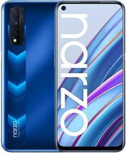 Смартфон Realme Narzo 30 6/128gb синий - фото 5311