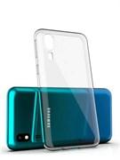 """Накладка ультратонкая """"Lux"""" 1 мм для Samsung Galaxy A31 (цвет=прозрачный)"""