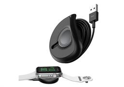 Зарядное устройство Baseus YOYO Wireless Charger for iW(with 1M Cable)Black